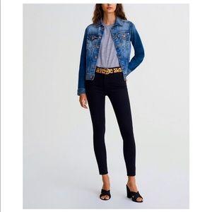 AG   The Farrah Skinny Ankle High Waist Jeans